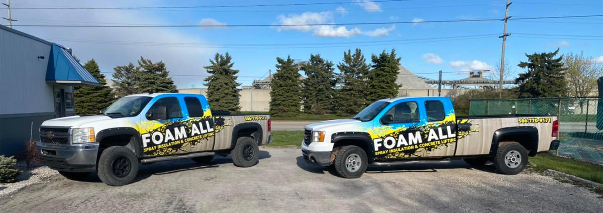 Foam All Trucks