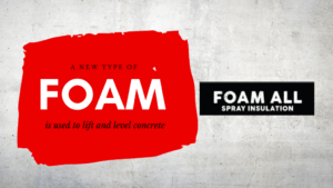 new foam can be used to fix concrete